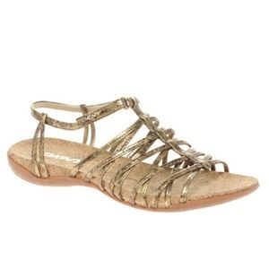 ✨ DKNY Metallic Kallipso Strappy Sandals ✨